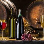 Вино. Фартук для кухни пластиковый