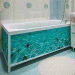 Выбор и установка экрана под ванну