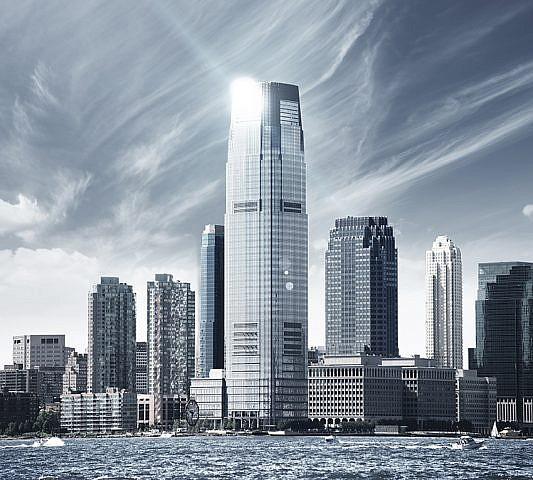 Фотопанно Небо над Нью-Йорком, размер 300x270 (023)