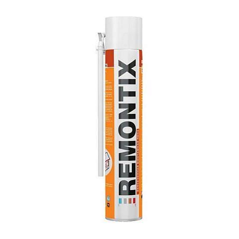 Бытовая Remontix, пена монтажная всесезонная, 750 ml