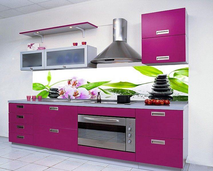 691 Китай. Фартук для кухни в интерьере