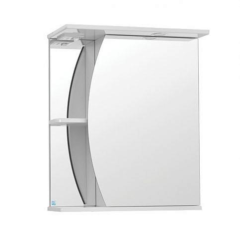 Камелия 600. Шкаф зеркальный с подсветкой