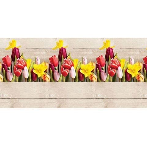 """Фартук кухонный пластиковый 3 метра """"Цветущая весна"""" (Лайт)"""