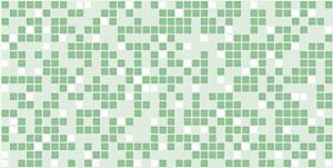 Мозаика зеленая