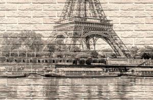 Эйфелева башня- приближение части декора
