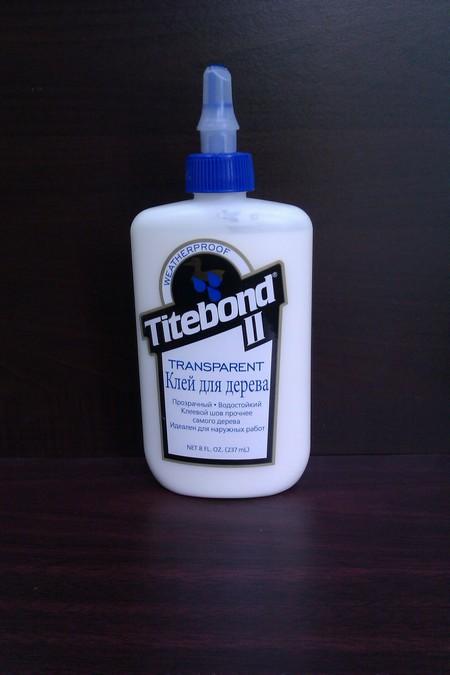 Клей для дерева Titebond Transparent