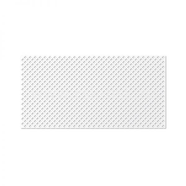 Готико Белый Панель перфорированная 120х60 см