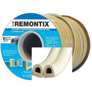 Уплотнитель Remontix белый профиль D