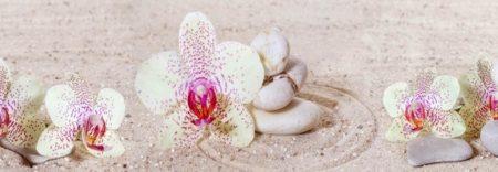Белая орхидея. 2 метра