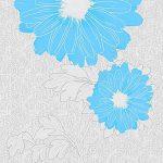 Гербера голубая 0119-3