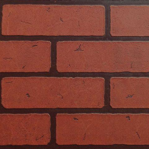 41245 Кирпич Красный обожженный. Панели листовые 1,22х2,44 м