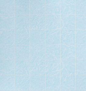Кафель голубой. Панель влагостойкая 1,22х2,44 м