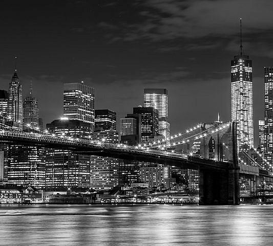Фотопанно Вид на мост, размер 300x270 (160)