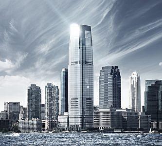 Фотопанно Небо над Нью-Йорком, размер 300×270 (023)