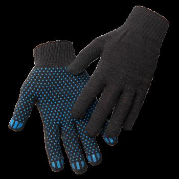 Перчатки трикотажные с точечным ПВХ покрытием, 10 класс, 4-х нитка, вес 42 г