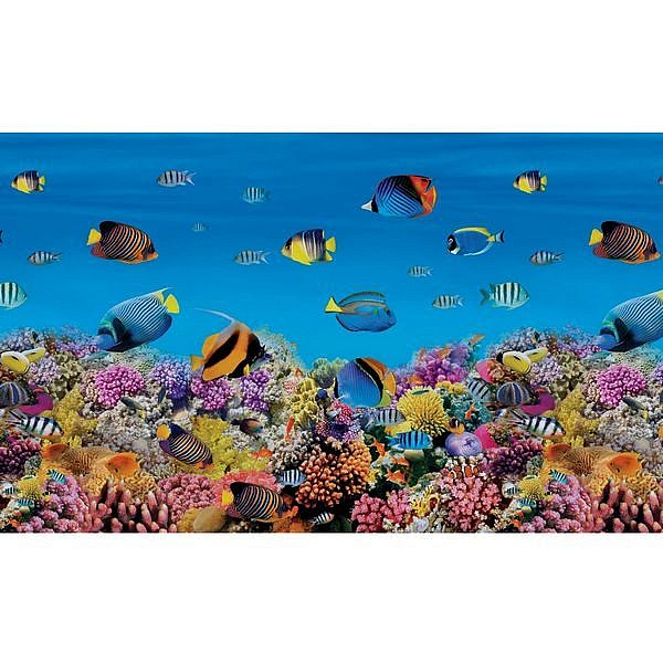 Рыбки. Фартук пластиковый 3 метра