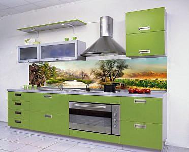 11 Природа. Фартук для кухни в интерьере