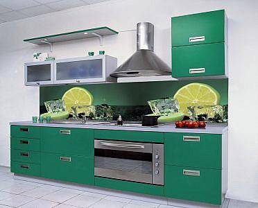 719 Фрукты. Фартук для кухни в интерьере