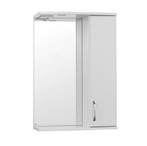 Панда 550С. Шкаф зеркальный с подсветкой