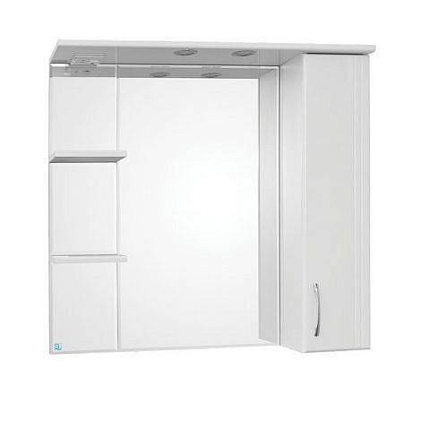 Панда 800-2С. Шкаф зеркальный с подсветкой