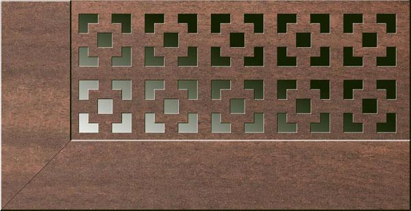 Экран для радиаторов Виктория Орех (980х680мм)