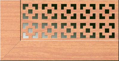 Экран для радиаторов Виктория Вишня (980х680мм)