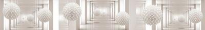 Фартук кухонный пластиковый 3 метра 2459 (Глянец) на ПВХ