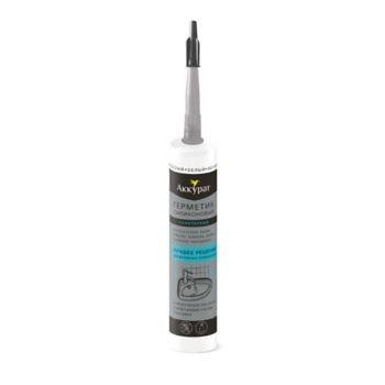Герметик Санитарный силиконовый белый ТМ Аккурат 260 мл