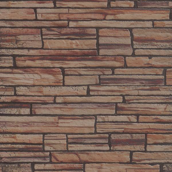 """Стеновая панель МДФ """"Камень коричневый сланец"""" 930х2200х6 мм"""