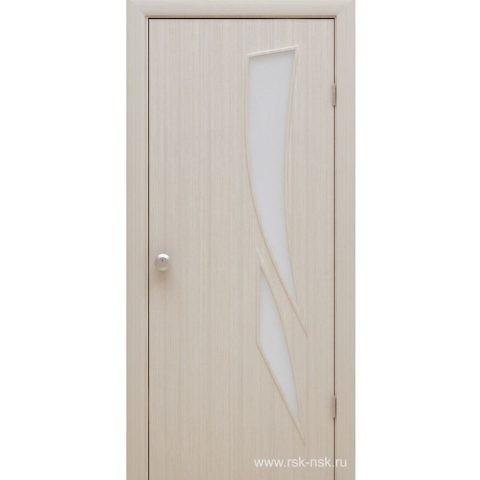 """Дуб беленый """"Модерато Стрелиция"""". Дверь межкомнатная ламинированная (Копировать)"""