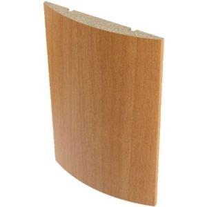 Наличник полукруглый для двери 2150х70х10 мм