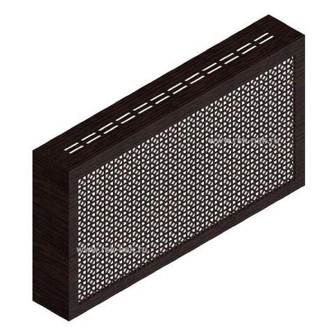 Экран с коробом для радиаторов 1200х600x170 мм. ХДФ. Перфорированный. Сусанна Венге
