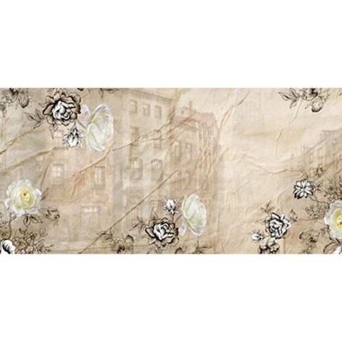 Фартук кухонный пластиковый 3 метра Винтажная бумага 955 (Фотопечать) ПП