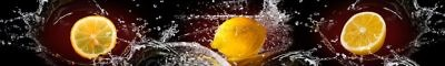 Фартук кухонный пластиковый 3 метра Лимоны 993(Фотопечать) ПП