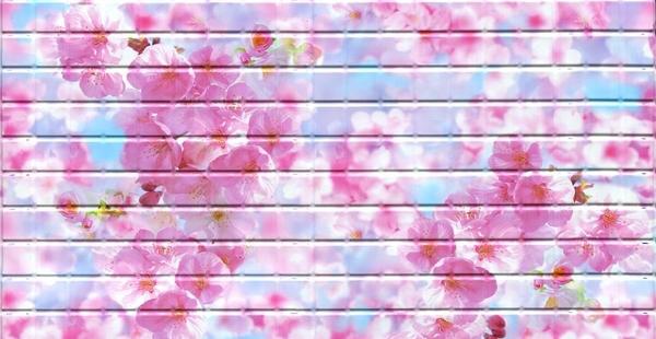 20 Сакура. Панели пластиковые листовые. Мозаика
