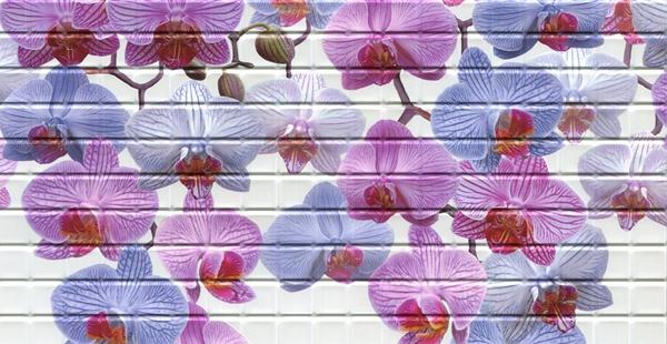 23 Орхидея. Панели пластиковые листовые. Мозаика