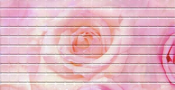 24 Роза. Панели пластиковые листовые. Мозаика