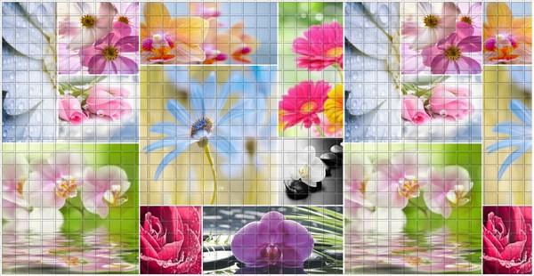 32 Нежность. Панели пластиковые листовые. Мозаика