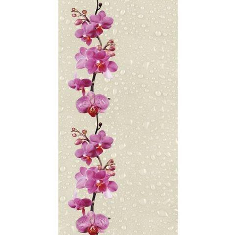 Орхидея 0136-1. Панели пластиковые термоперевод. 0,25х2,7 м