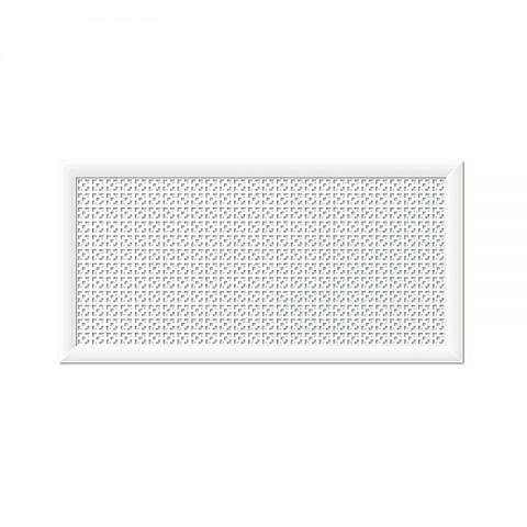 Экран для радиаторов Дамаско Белый (1200х600мм)