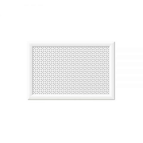 Экран для радиаторов Дамаско белый (900х600мм)