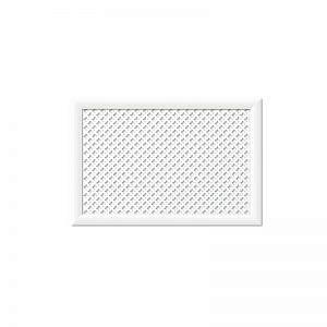 Экран для радиаторов Готико Белый (900х600мм)