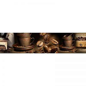 Фартук кухонный МДФ 2,8х0,6 метра Кофе 023