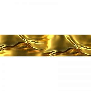 Фартук кухонный МДФ 2,8х0,6 метра Золотой шёлк 0631