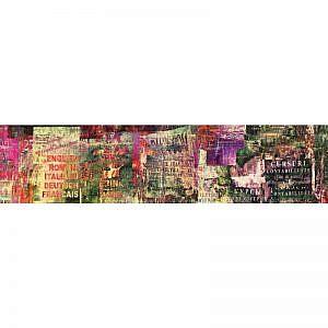 Фартук кухонный МДФ 2,8х0,6 метра Надписи 0724