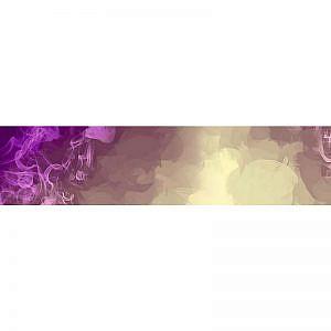Фартук кухонный МДФ 2,8х0,6 метра Разноцветный дым 0986