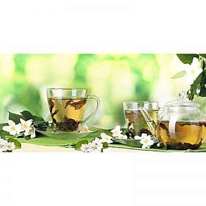 Фартук кухонный МДФ 2,8х0,6 метра Зеленый чай 147