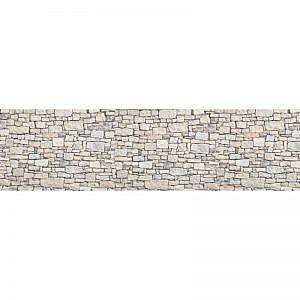 Фартук кухонный пластиковый 3х0,6 метра Камни 2213