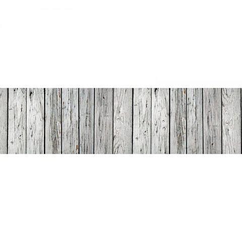 Фартук кухонный пластиковый 3х0,6 метра Дерево 2856