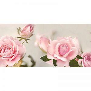 Фартук кухонный МДФ 2,8х0,6 метра Розовые розы 290